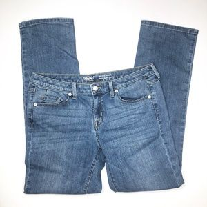 Mossimo Mid-Rise Straight Denim 10R